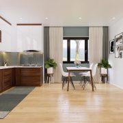 Hệ thống căn hộ THT New city