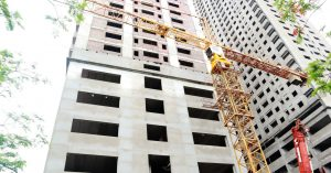 Một số hình ảnh tiến độ thi công tòa A3 THT New City tháng 5/2021